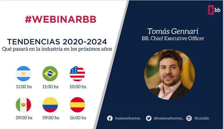Web Seminar BB - Business Bureau: Tendencias 2020 - 2024 en TV y streaming